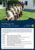 Titel Plakat World Ranger Day 2015